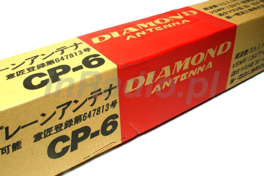 Antena KF bazowa pionowa DIAMOND CP-6