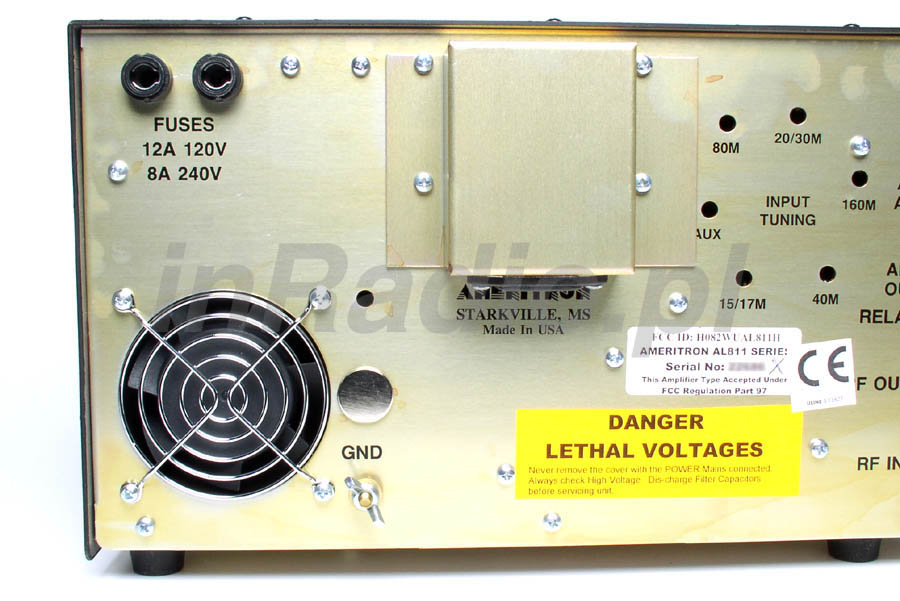 Liniowy Wzmacniacz Mocy Kf Ameritron Al H on 811 Tube Amplifier Linear