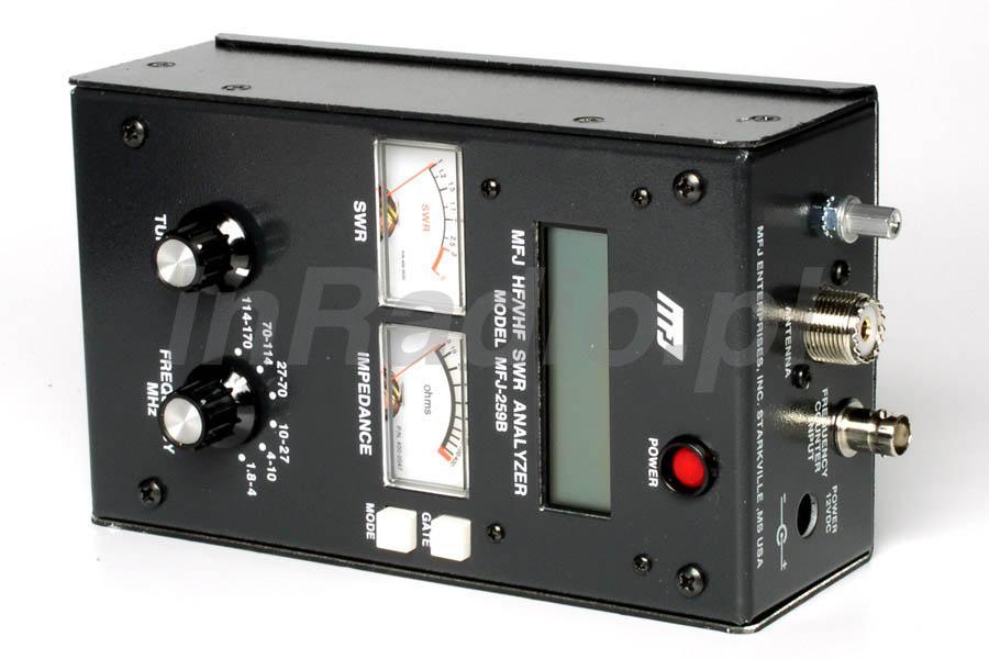 analizator antenowy MFJ-259B