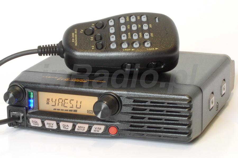 Transceiver Samochodowy YAESU FTM3200 D z cyfrową modulacją YAESU DIGITAL C4FM